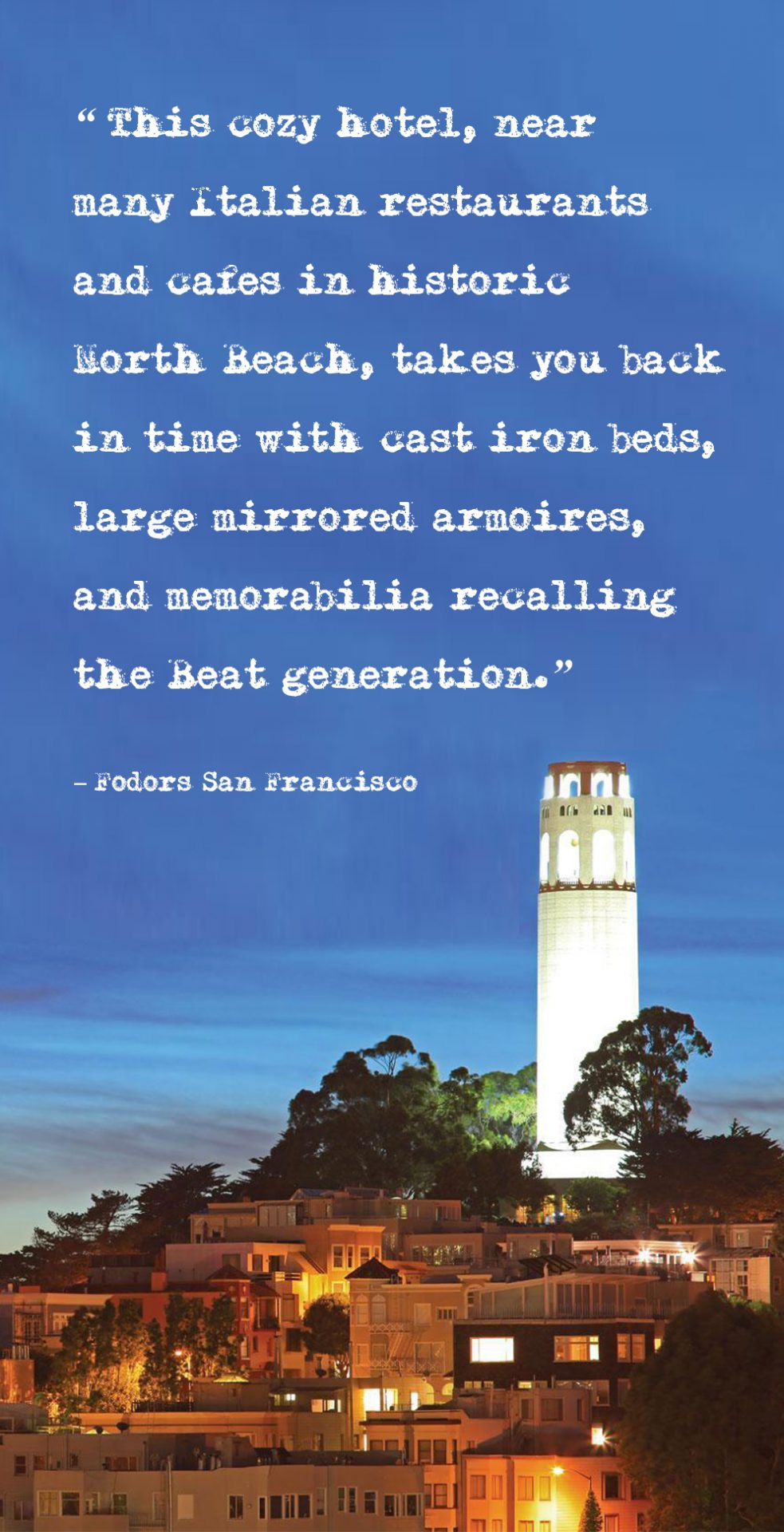 Coit Tower / FODORS, San Francisco